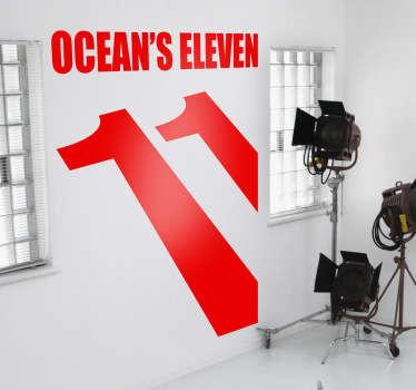 Vinilo decorativo Ocean's Eleven