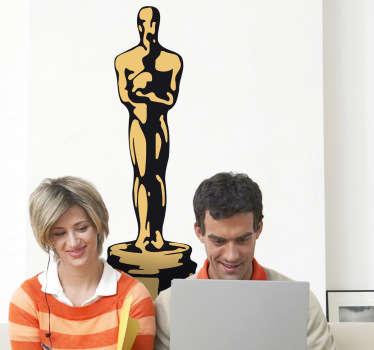 Naklejka dekoracyjna w kolorze Oscar