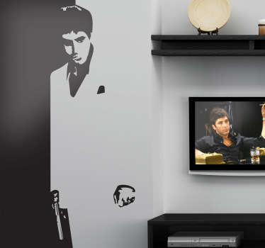 Sticker Al Pacino Scarface
