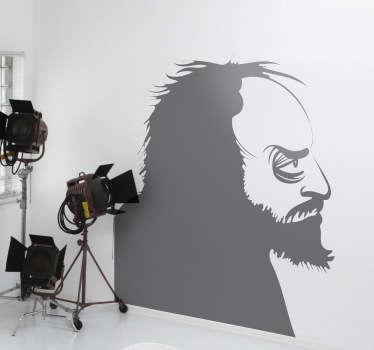 Stanley Kubrick Wall Sticker