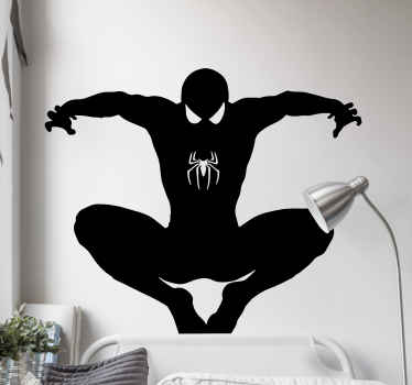 Leave your children bedroom space with the thrilling view of this sticker of a flying superhero character. Available in different colours and sizes.