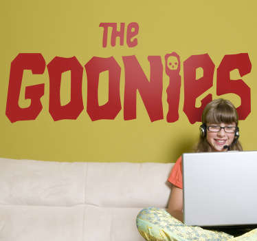 Vinilo decorativo the Goonies
