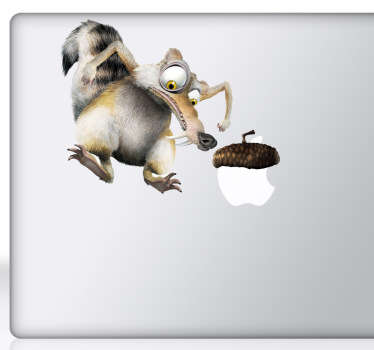 Sticker PC portable Scrat l'âge de glace