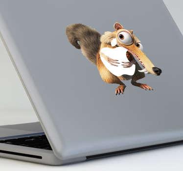 Scrat from Ice Age 2 MacBook Sticker