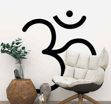 Looking for an Indian religious iconic sticker to decorate your space?. If yes then this Om religious symbol decal would do for you.