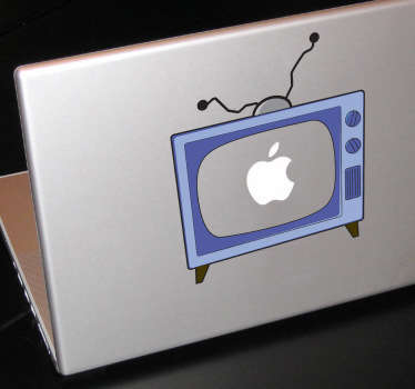 Sticker PC portable tv Simpsons