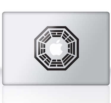 Dharma MacBook Sticker