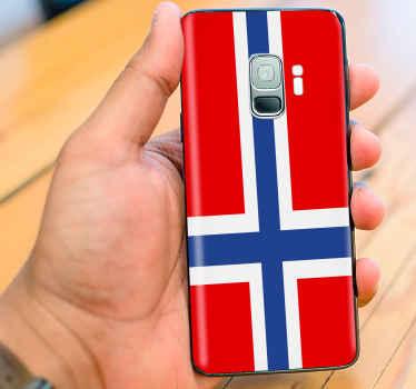 Produksjon av et fanastisk norgesflagg til din telefon laget av høykvalitets materiale. Super å håndtere og enkel å rengjøre - bare prøv det.