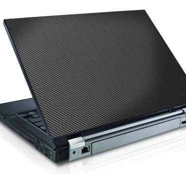 Adesivo speciale carbonio per portatile