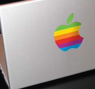 Vinilo logo Apple Macintosh