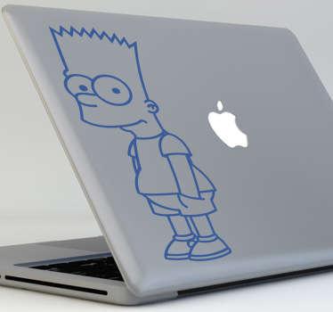 Skin adesiva pc Bart Simpson