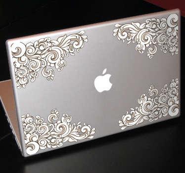 Renaissance Corners Laptop Sticker