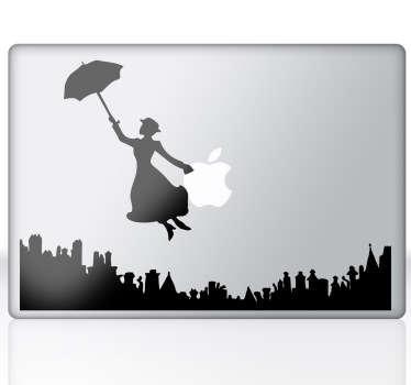 Mary Poppins MacBook Sticker