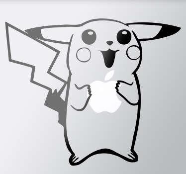 Sticker PC portable Pikachu Pokemon