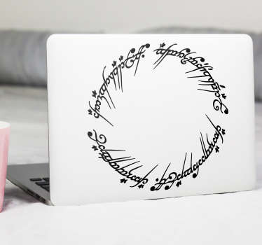 Ringenes herre Macbook sticker