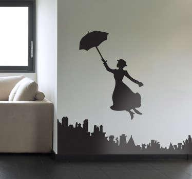 Naklejka dekoracyjna Mary Poppins