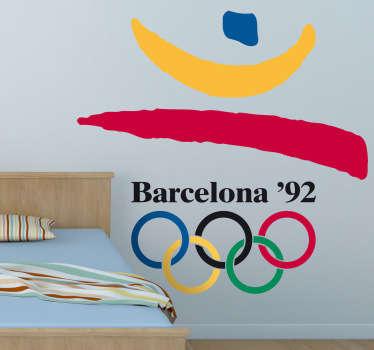 Vinilo decorativo logo Barcelona 92