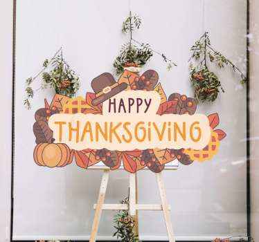 We got you covered with for thanksgiving sale sales with our amazing decorative thanksgiving sales decal made of best quality vinyl.