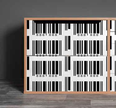 ¡Compre ahora nuestro papel adhesivo para muebles con código de barras para darle a su tienda o muebles un aspecto nuevo y original!
