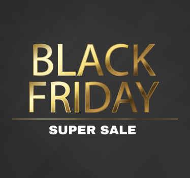 Оригинальная и привлекательная супер распродажа в стиле «черная пятница» в желто-белом цвете, чтобы каждый посетил ваш магазин и совершил покупку.