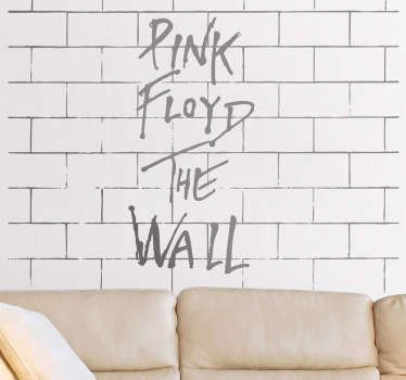 Sticker mural Pink Floyd The Wall
