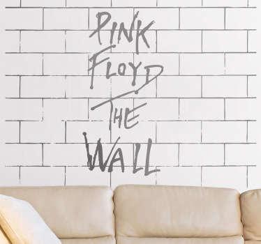 Vinilo decorativo Pink Floyd The Wall