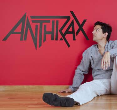 Anthrax Logo Wall Sticker