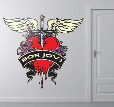 Vinilo decorativo Bon Jovi