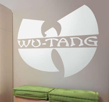 Naklejka dekoracyjna logo Wu Tang