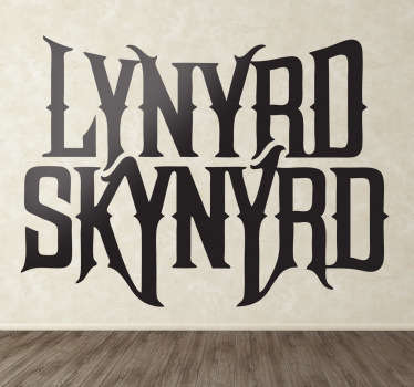 Sticker decorativo logo Lynyrd Skynyrd