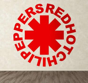 Vinilo decorativo Red Hot Chili Peppers