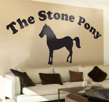 The Stone Pony Wall Sticker