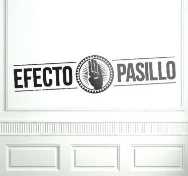 Sticker logo Efecto Pasillo