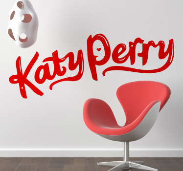 Sticker decorativo logo Katy Perry