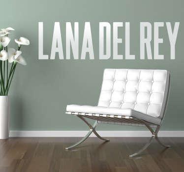 Naklejka dekoracyjna Lana del Rey