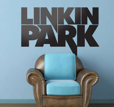 Wandtattoo Logo Linkin Park