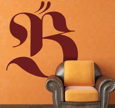 Naklejka dekoracyjna logo Beyoncé