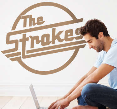 Sticker decorativo logo The Strokes