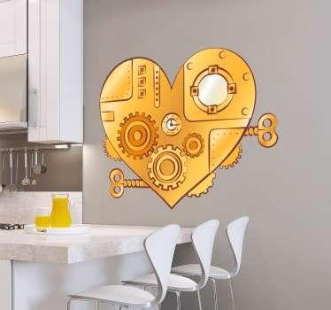 Sticker decorativo meccanismo