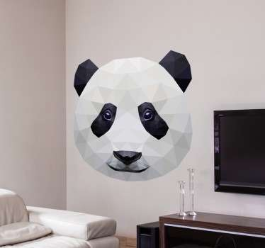 Sticker photo panda