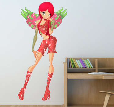 Strawberry Fairy Sticker