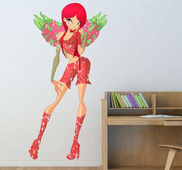 Strawberry Fairy Sticker