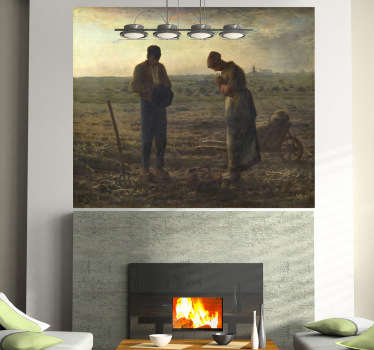 The Angelus Wall Mural