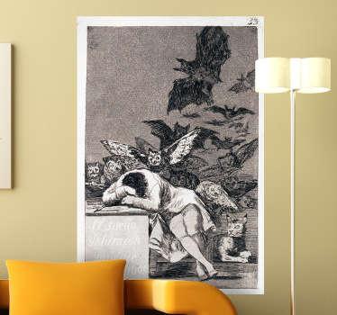 Goya Muursticker