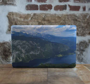 Lake Bohinj laptop vinyl skins decal to decorate your laptop in a lovely way. It is original, durable, easy to applyand removable.