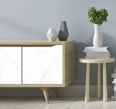 Elegant white marble furniture sticker for all furniture decoration. Suitable for home and office furniture space and it application is easy.