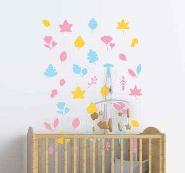 Décoration de adhesif arbre confettis arbre pour chambre et autres espaces. Il est facile à appliquer et fabriqué avec du sticker de qualité supérieure.