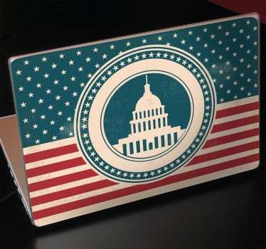 Sticker decorativo per Pc Washington