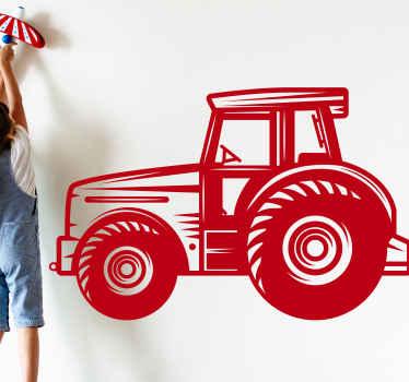 Um incrível autocolante detalhado da indústria de tratores agrícolas que fará com que seu filho se sinta um trabalhador em seu quarto. Inscreva-se com 10% de desconto.