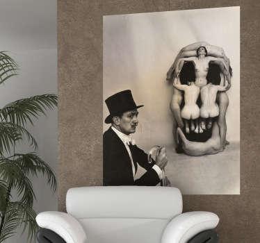 Vinilo decorativo fotografía Dalí
